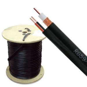 SIAMES152N asekuro Bobina Cable siames 152 mts RG59/U calibre 20