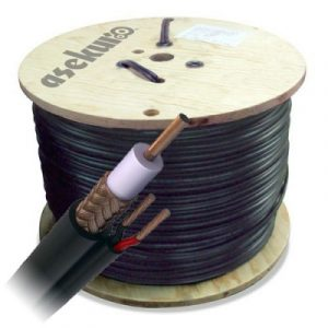 SIAMES305N asekuroBobina Cable siames 305 mts RG59/U calibre 20