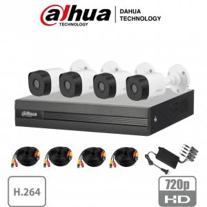 XVR1B04KIT Paquete DVR 4 camaras 2 MP + DVR 1080n + accesorios