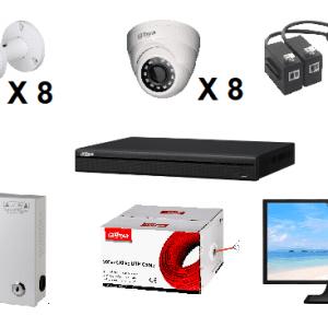 DPP16CH720P KIT CCTV DAHUA 16CH 720P/ GRABADOR XVR4116HS2 720P/