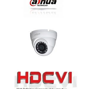 HDW1000M28 DAHUA CAMARA DOMO HDCVI 720P/ TVI/ AHD/ CVBS/ LENTE FIJO 2.8MM