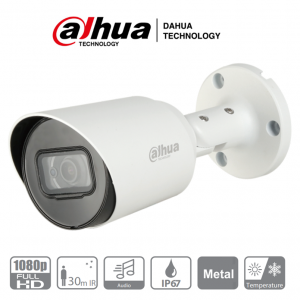 DAHUA HFW1200T-A – Camara Bullet HDCVI 1080p / 103 Grados de Ape