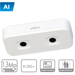 HD4140X3D DAHUA Camara IP 1,3MP dual para conteo de personas / I