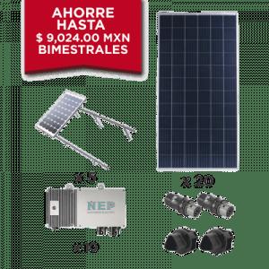 KIT10BDM600POLI EPCOM Kit Solar para interconexion de 5.5 kW de