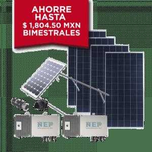KIT2BDM600POLI EPCOM Kit Solar para Interconexion de 1.1 kW de