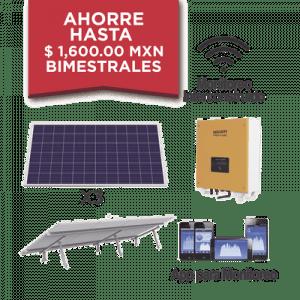 KITEPCOM1KV1 SYSCOM  Kit solar para interconexion de 1 KW de po
