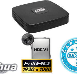SAX1084S3 DVR 4 CANALES SAXXON PRO TRIHIBRIDO  1080P