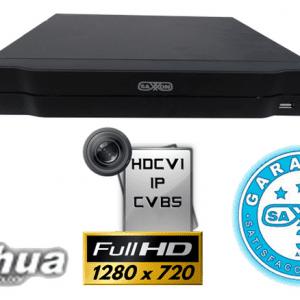 SAX7204HS3 DVR 4 CANALES SAXXON PRO TRIHIBRIDOS 720P