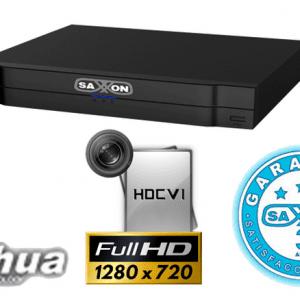 SAX7216HS3 DVR 16 CANALES SAXXON PRO TRIHIBRIDO 720P