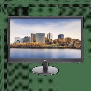 M2470-SWH AOC Monitor LED de 24″, Resolucion 1920 x 1080 Pixele