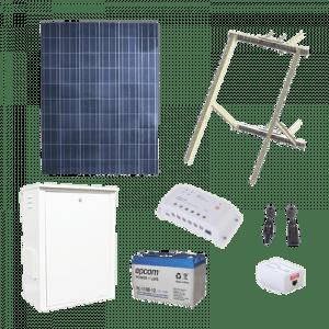 PL-1224G-1R EPCOM POWER LINE Kit Solar de 8.5 W con PoE Pasivo 24 Vcd