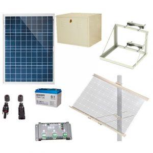 PL12K EPCOM POWER LINE Kit Solar de 12 Vcd para alimentar energi