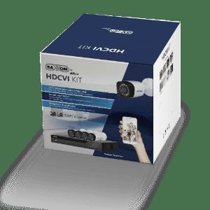SAX4108XHXKIT SAXXON PRO KIT 8 CANALES HDCVI PENTAHIBRIDO 720P/