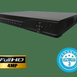 SAX0416MN DVR 16 CANALES SAXXON PRO TRIHIBRIDO HDCVI 4 MP