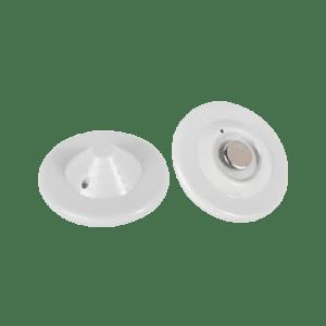 T004 Paquete 100 pzas Tags blanco mini UFO blanco especializado