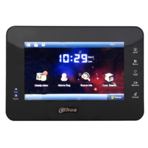 VTH1560B DAHUA MONITOR IP TOUCH DE 7 PULGADAS/ POE/ SD 4GB/ LLAMADA EN GRUPO