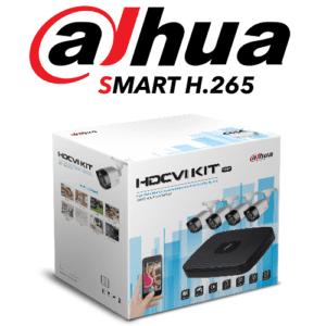XVR5104HS4KLX DAHUA DVR 4 CANALES HDCVI PENTAHIBRIDO 4MP/ 1080P/