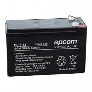 PL-7-12 EPCOM Bateria con Tecnologia AGM VRLA 7 Ah