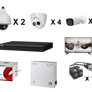 DPP16CH1080P KIT CCTV DAHUA 16CH 1080P/ GRABADOR XVR5216AS2 1080
