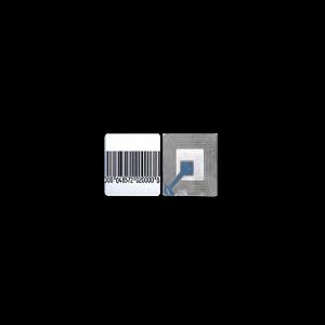GF4040H Paquete con 100 tags Etiqueta Adherible RF 40 x40 mm
