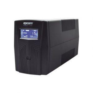 EPU600LCD EPCOM UPS de 600VA/360W / Topología Línea Interactiva / Entrada y Salida 120 Vca