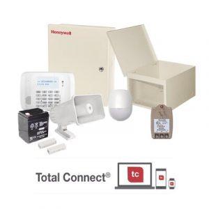 VISTA48ECO HONEYWELL Kit de Alarma Residencial con Sensor de Movimiento y Contactos Magnéticos