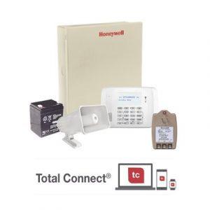 VISTA-48/62RF-TB HONEYWELL Kit con panel de alarma para 48 zonas con teclado alfanumérico
