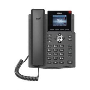 X3SP-V2 FANVIL Teléfono IP empresarial para 4 líneas SIP con pantalla LCD de 2.4 pulgadas a color