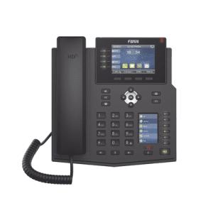 X5U FANVIL Teléfono IP Empresarial con Estándares Europeos, 16 lineas SIP con pantalla LCD a color