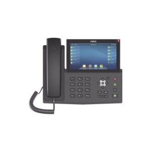 X7-F FANVIL Teléfono IP empresarial para 20 lineas SIP, pantalla táctil, Bluetooth integrado para diadema