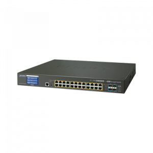 GS-5220-24UP4X PLANET Switch Administrable L3 24 puertos 10/100/1000 Mbps c/Ultra PoE 400 Watts