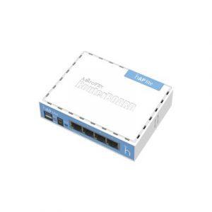 RB941-2ND MIKROTIK (hAP Lite) 4 Puertos Fast Ethernet y Wi-Fi 2.4 GHz 802.11 b/g/n