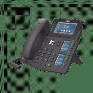X6Ub FANVIL Teléfono IP Empresarial con Estándares Europeos, 20 lineas SIP